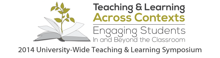 Teaching & Learning Across Contexts - Symposium 2014 logo