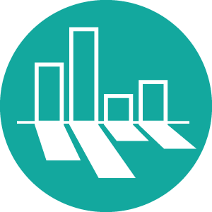 Data-Informed Reflection icon